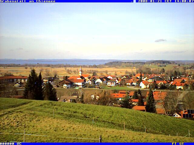 Chiemsee webcam - Grabenstatt am Chiemsee webcam, Bavaria, Chiemgau